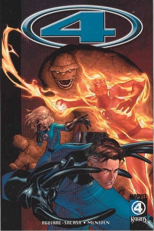 Marvel Knights 4, Volume 1: Wolf at the Door