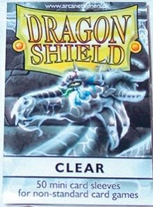 Dragon Shield - Protetor Transparente c/ 50 Yu-Gi-Oh!
