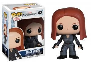 Funko - POP! MARVEL: CAPT. AMERICA MOVIE 2 - BLACK WIDOW