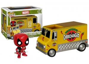 Funko - POP! RIDES: DEADPOOL'S CHIMICHANGA TRUCK