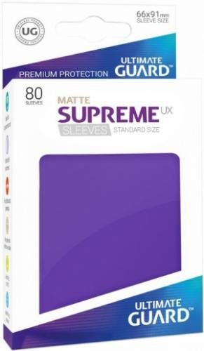 ULTIMATE GUARD - SUPREME UX MATTE ROXO