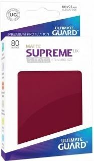 ULTIMATE GUARD - SUPREME UX MATTE BURGUNDY