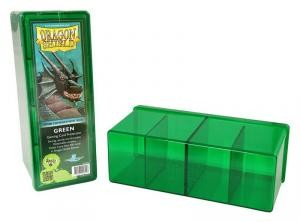 DRAGON SHIELD FOUR COMPATMENT BOX GREEN