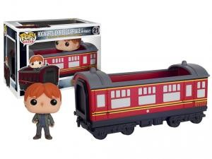 Funko - POP! RIDES 22: Hogwarts Express Carriage - With Ron Weasley