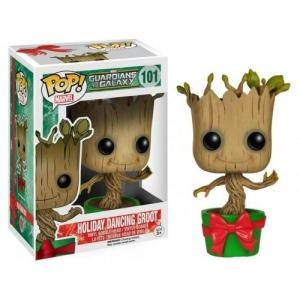 Funko - POP! MARVEL GUARDIANS OF THE GALAXY: HOLIDAY DANCING GROOT