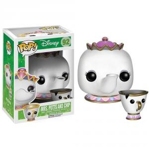 Funko - POP! DISNEY 92: MRS. POTTS & CHIP