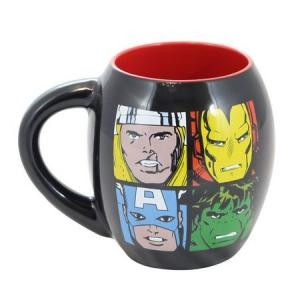 CANECA PORCELANA OVAL MARVEL AVENGERS 530ML