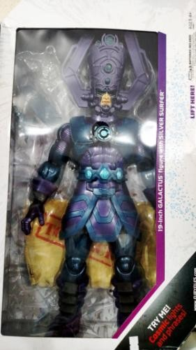 Marvel Universe Masterworks 19 Inch Deluxe Action Figure Galactus Includes Silver Surfer