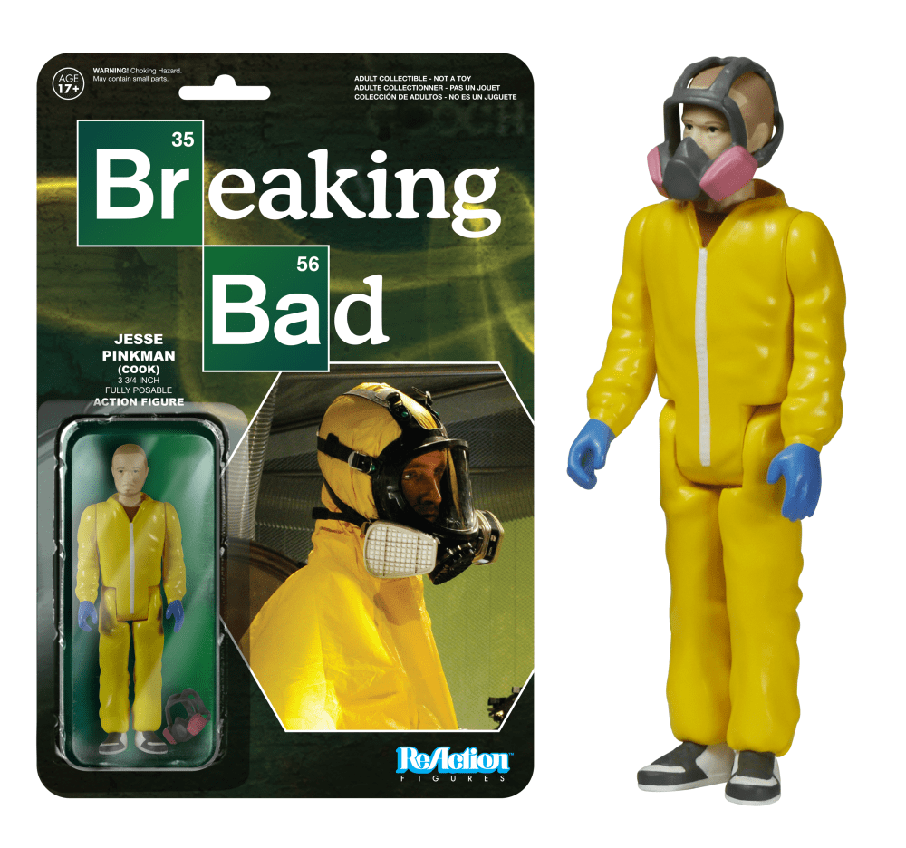 Funko - REACTION: BREAKING BAD - JESSE PINKMAN (COOK)