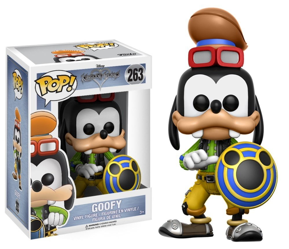 Funko Pop! Disney 263: Kingdom Hearts - Goofy Pateta