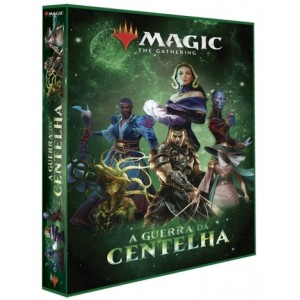 Álbum Magic GUERRA DA CENTELHA 3 Argolas