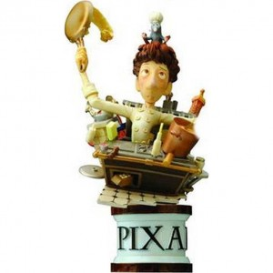 Estátua Figure Ratatouille Square Enix Formation Arts