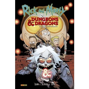 Rick and Morty: Dungeons & Dragons Vol.02 - Capa dura