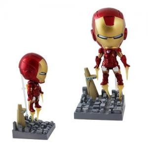 Iron Man - Bobble Head (Base com torre Stark)