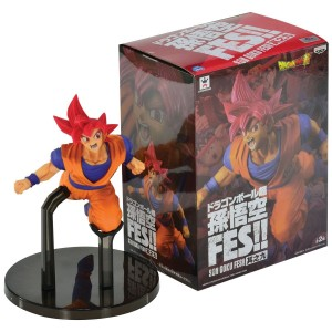 SUPER SAIYAN GOD - DRAGON BALL SUPER SON GOKU FES