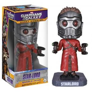 Funko - WACKY WOBBLER: MARVEL - GUARDIANS OF THE GALAXY - STAR LORD