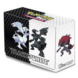 Ultra-Pro - Deck Box Pokémon Black & White