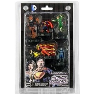 Heroclix - Justice League The Crime Syndicate Fast Forces Pack