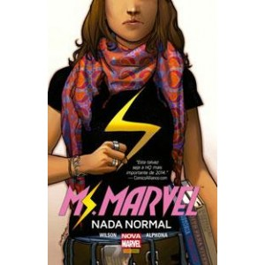Ms. Marvel - Nada Normal CAPA DURA