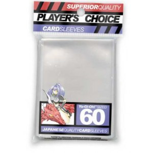 Player's Choice - Protetor Yu-Gi-Oh! Transparente c/ 60