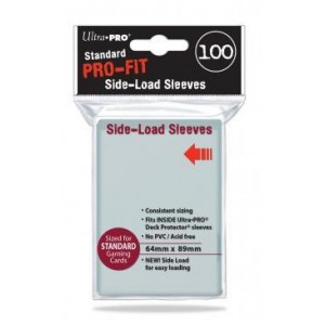 Ultra-Pro - Pro-Fit Standard Side Load Deck Protectors 100ct