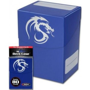 BCW - Deck Box Azul 80 Cards