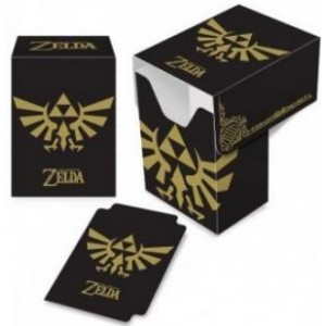 Ultra-Pro - Deck Box Zelda Black and Gold