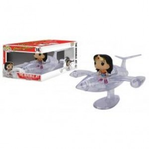 Funko - POP! RIDES 16: The Invisible Jet - With Wonder Woman