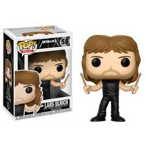 Funko - POP! ROCKS METALLICA 58: Lars Ulrich
