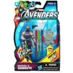 Hasbro Action Figure The Avengers Marvel's Hawkeye Comic Series