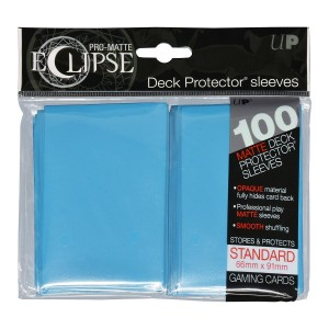 PRO-Matte Eclipse Sky Blue Standard Deck Protector sleeve 100ct