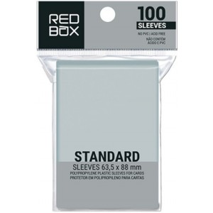 SLEEVE REDBOX: STANDARD 63,5X88MM