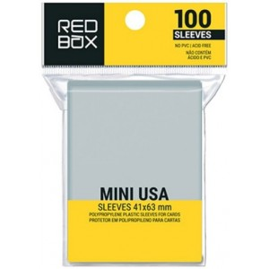 SLEEVE REDBOX: MINI USA 41X63MM