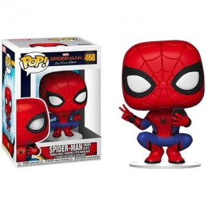 Funko - POP! Movies 468: Spider-Man (Hero Suit)