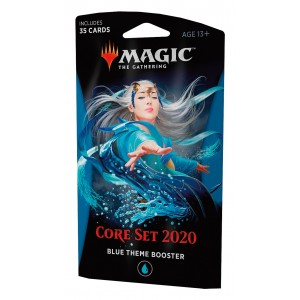 Magic: the Gathering - Coleção Básica 2020 Theme Booster Blue