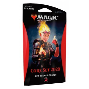 Magic: the Gathering - Coleção Básica 2020 Theme Booster Red