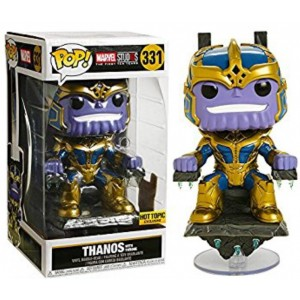 Funko - POP! Heroes 331: Thanos with Throne