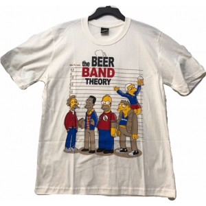 CAMISETA THE BEER BAND THEORY - M