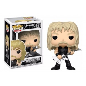 Funko POP ROCKS METALLICA 57 James Hetfield